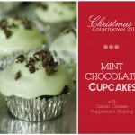 {Countdown to Christmas} My favourite Mint Chocolate Cupcakes