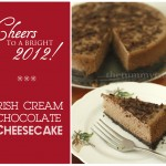 A Cheesecake to bring cheers to the New Year!