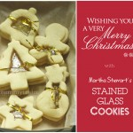 Stained-Glass Cookies to wish you all a Merry Christmas!
