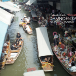 {Sawatdee, Thailand!} Shopping from a boat & a taste of Thailand