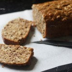 Low-fat Oatmeal Banana Bread for my soul