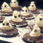 Ghastly Cupcakes to wish you a Spooktastic Halloween!