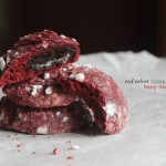 Red Velvet Valentine Crinkles + Happy Hearts Day to all!