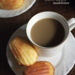The art of being okay + Lemon-Glazed Madeleines