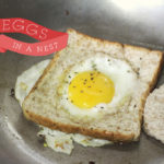 A fun way to enjoy eggs and toast