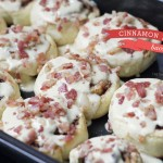 The bacon-lover's cinnamon rolls