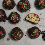 {Christmas Countdown 2013} Cookie dough truffles you'll want to make all-year round