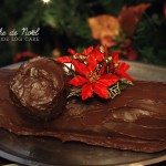A Bûche de Noël to wish you a very merry Christmas