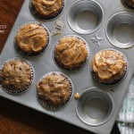 "Some ""Skinny"" Peanut Butter-Banana Muffins for bikini season"