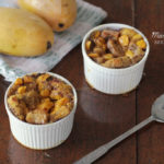 Sweet sweet mornings and Mango bread pudding