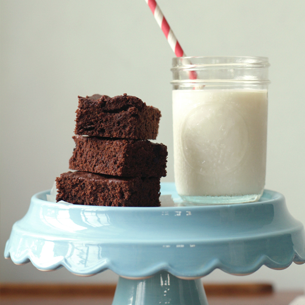 option 2 - Musings with a side of Triple Choco-cado Brownies