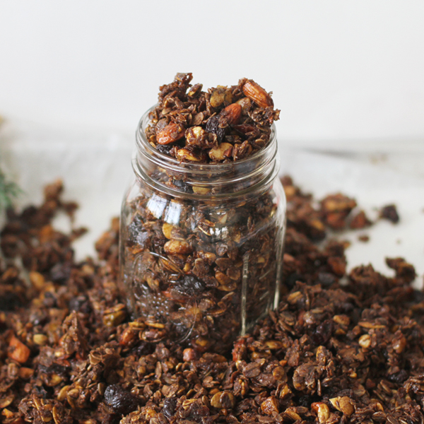 Ginger Granola only - A post-Christmas hangover breakfast treat with Homemade Granola