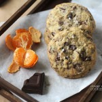 Amazing orange-chocolate cookies featuring Villa del Conte's Chocolates