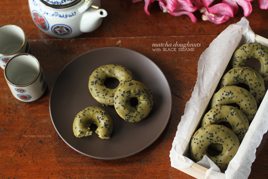 17310250611 7266d58044 b - Baked Matcha Doughnuts for my Japan Hangover
