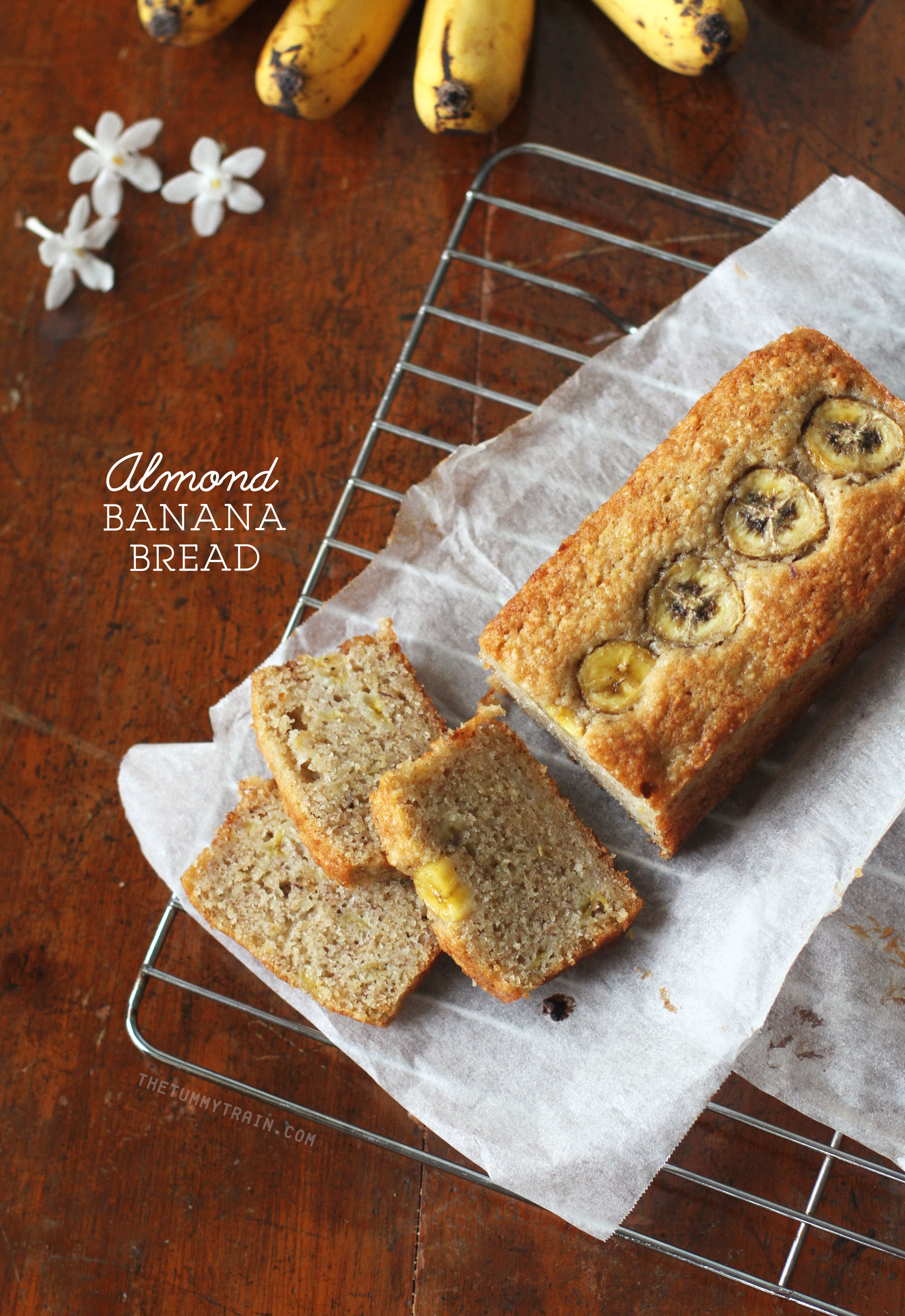 Almond Banana Bread 1 - Of course you need another banana bread recipe!