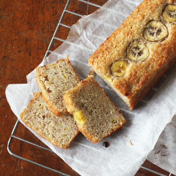 Almond Banana Bread - Of course you need another banana bread recipe!