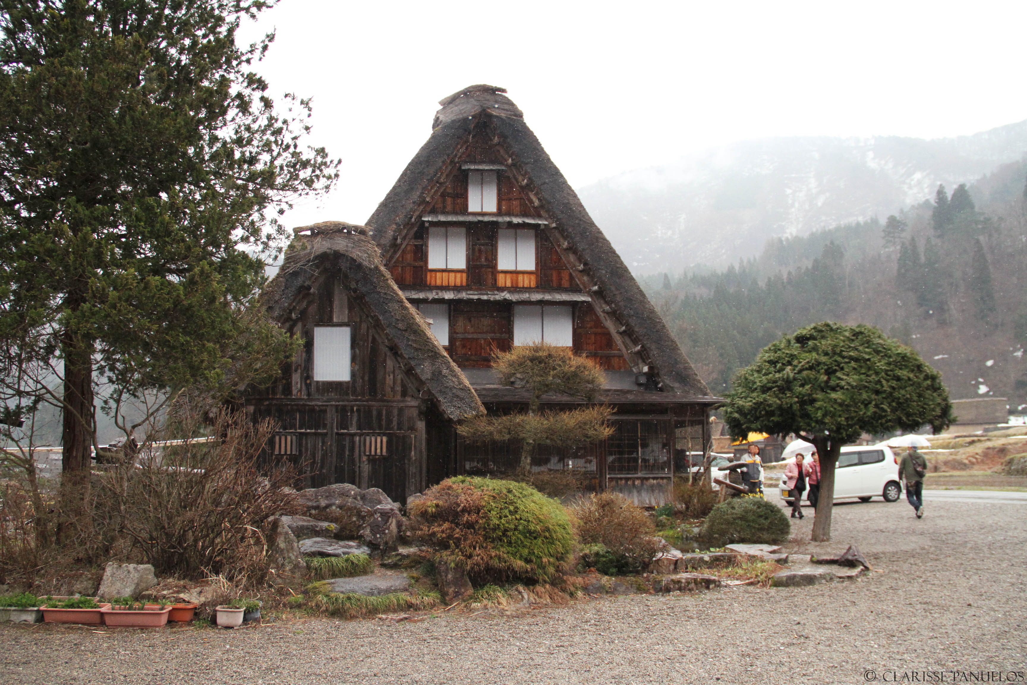 Shirakawago Lunch area 1 - Japan Travel Blog April 2015: Shirakawa-go