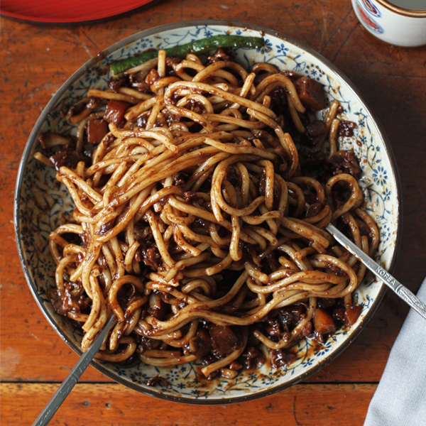 Jjajangmyeon v2 - Two ways to go crazy for Jjajangmyeon 짜장면