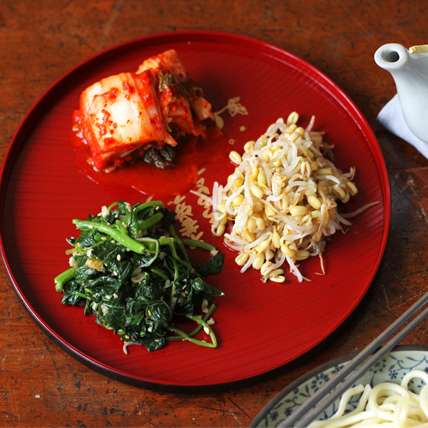 Banchan - Two Banchan dishes 반찬 using one easy recipe