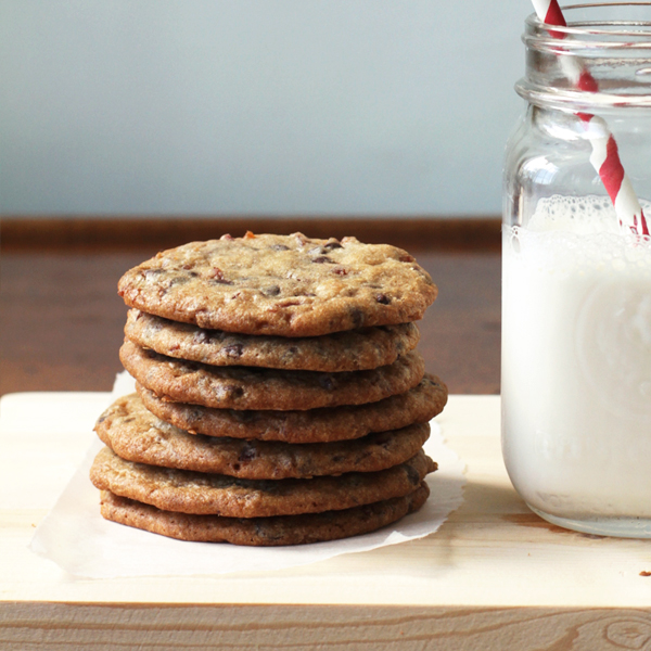 Candied Bacon Chocolate Chip Cookies Recipe