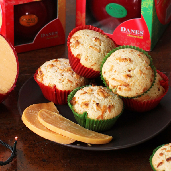 Danes Cheese Muffins - Have a sweet and savory Christmas with Danes Cheese Ball