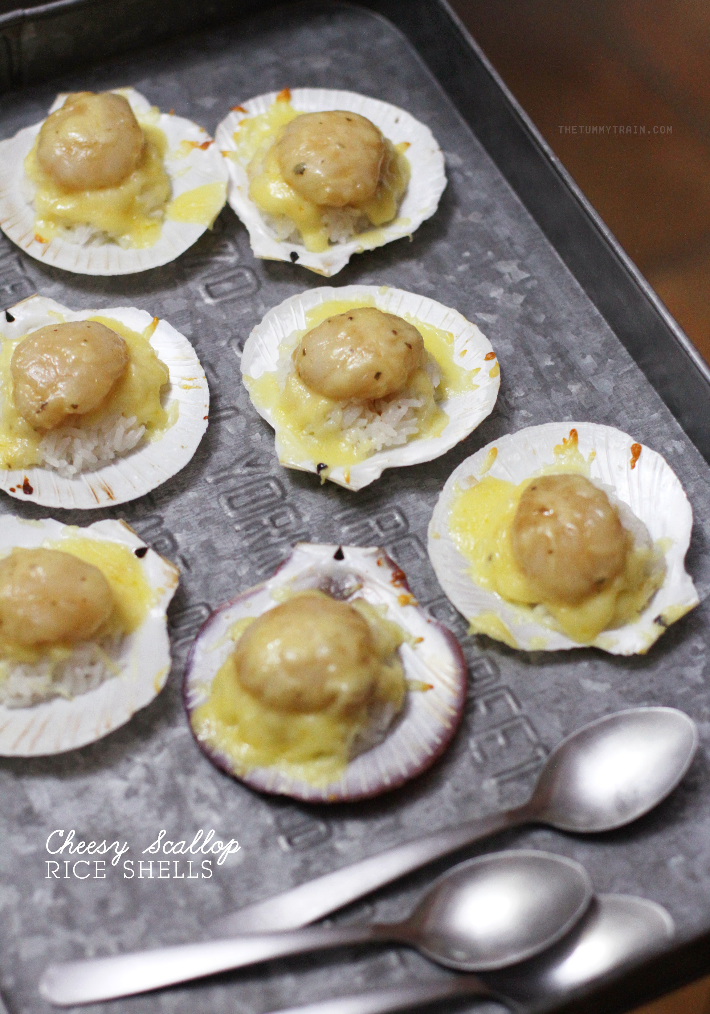 Dona Maria Cheesy Scallop 1 - A taste of the sea at home thanks to Doña Maria Rice