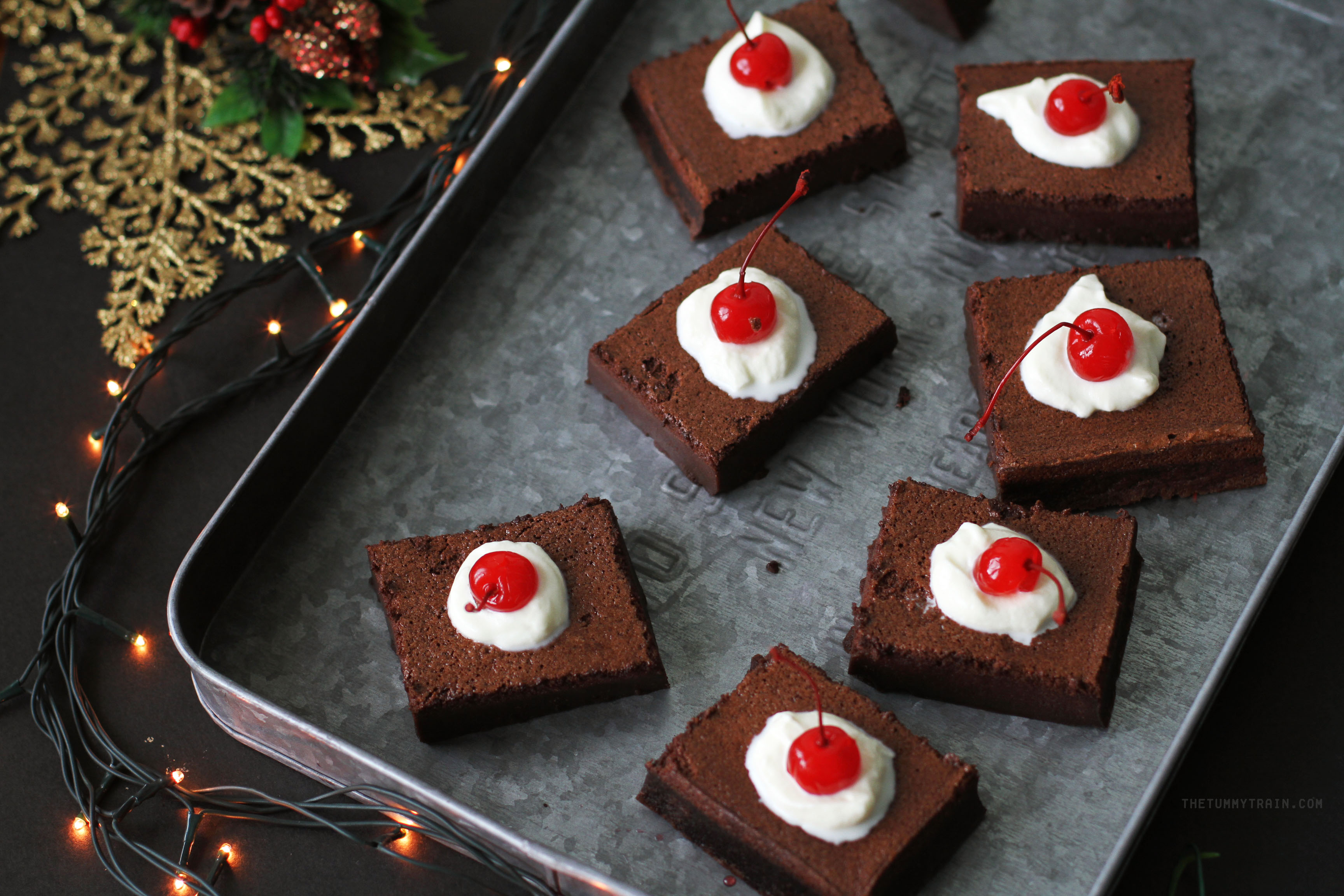 Choco Magic Cake 2 - A newfound obsession in time for Christmas with this Chocolate Magic Cake recipe