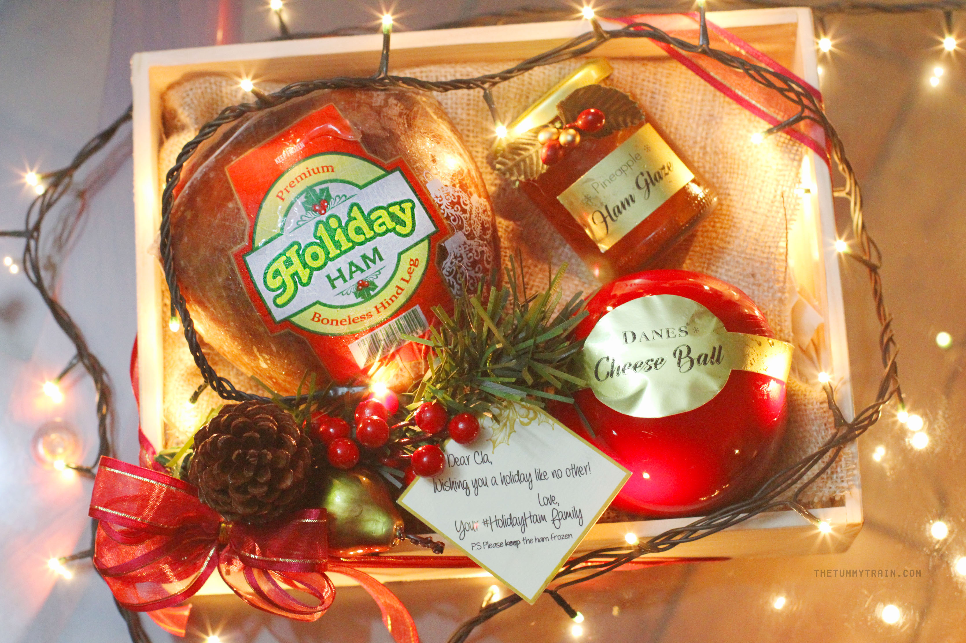 Holiday Ham 1 - Taste the difference this Christmas with Holiday Whole-Meat Ham!