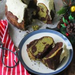 Get in the mood for Christmas with this Chocolate Matcha Bundt Cake Recipe