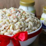 Holiday reunions made more lovely by this Lady's Choice Macaroni Salad Recipe