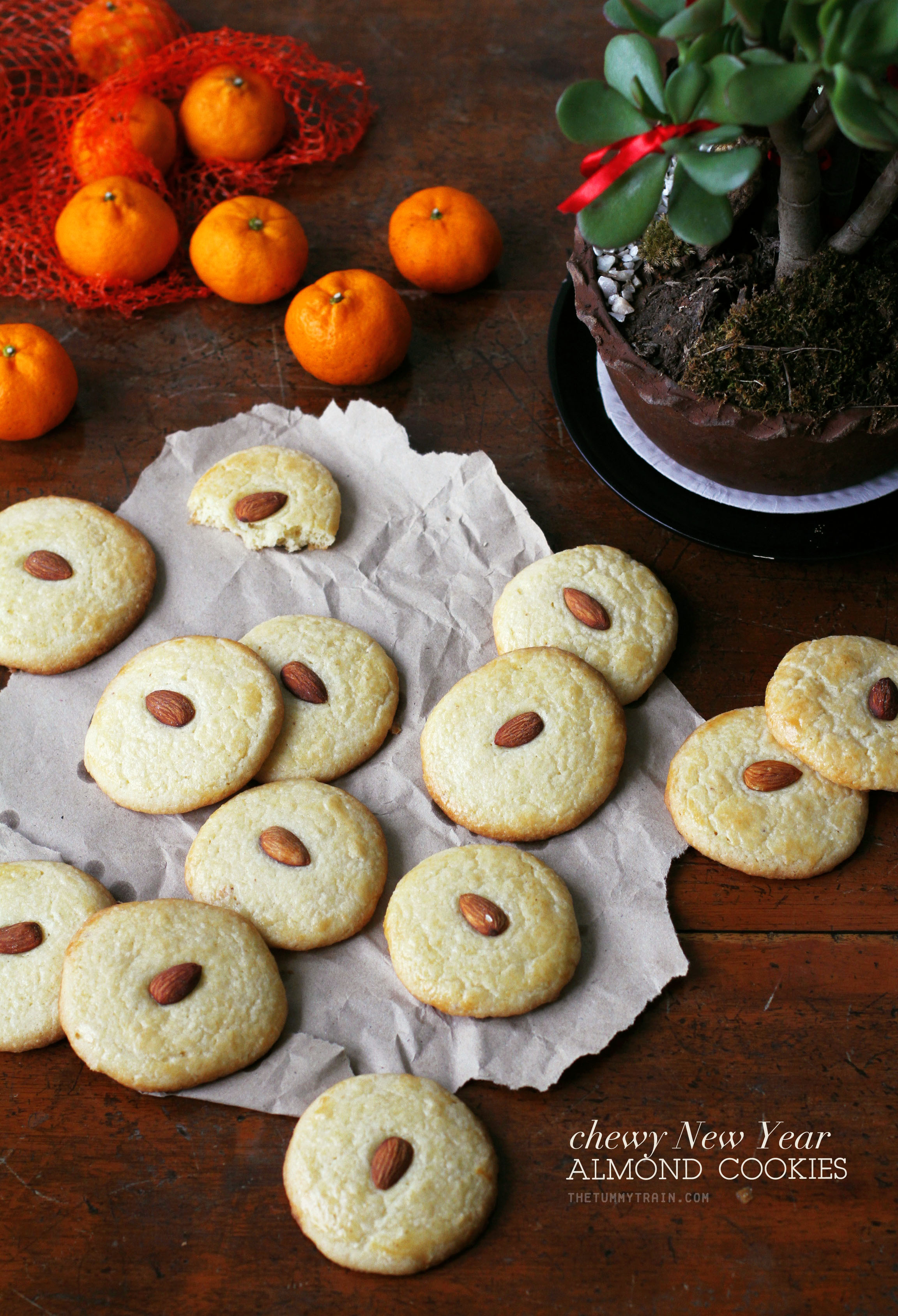 CNY Almond Cookies 1 - Celebrating with these Lunar New Year Almond Cookies