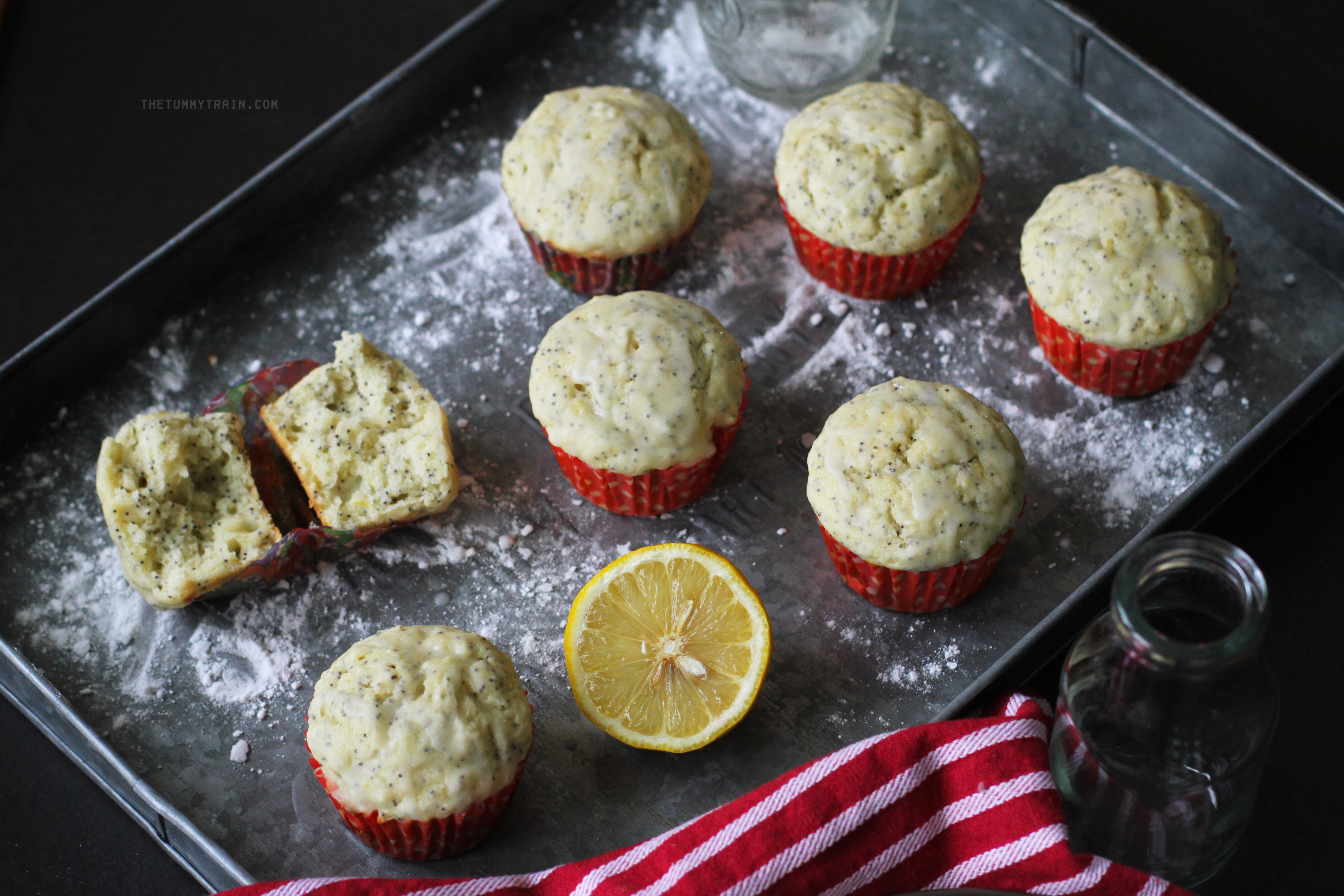 Lemon Poppyseed Muffins 3 - Getting personal with these Lemon Poppyseed Muffins