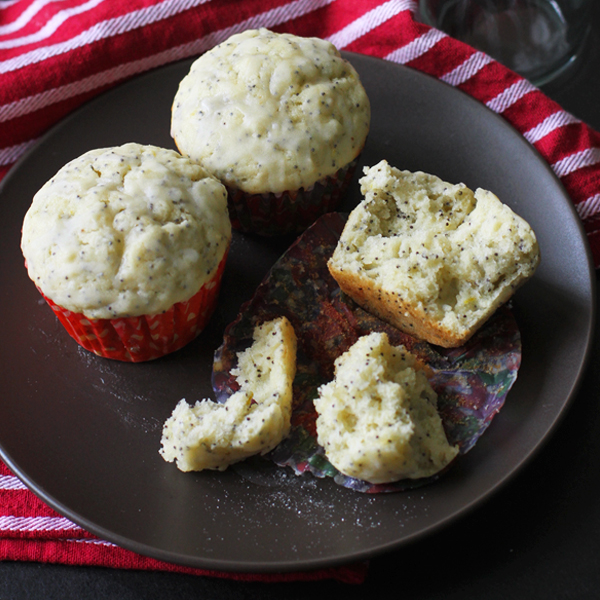 Lemon Poppyseed Muffins - Getting personal with these Lemon Poppyseed Muffins