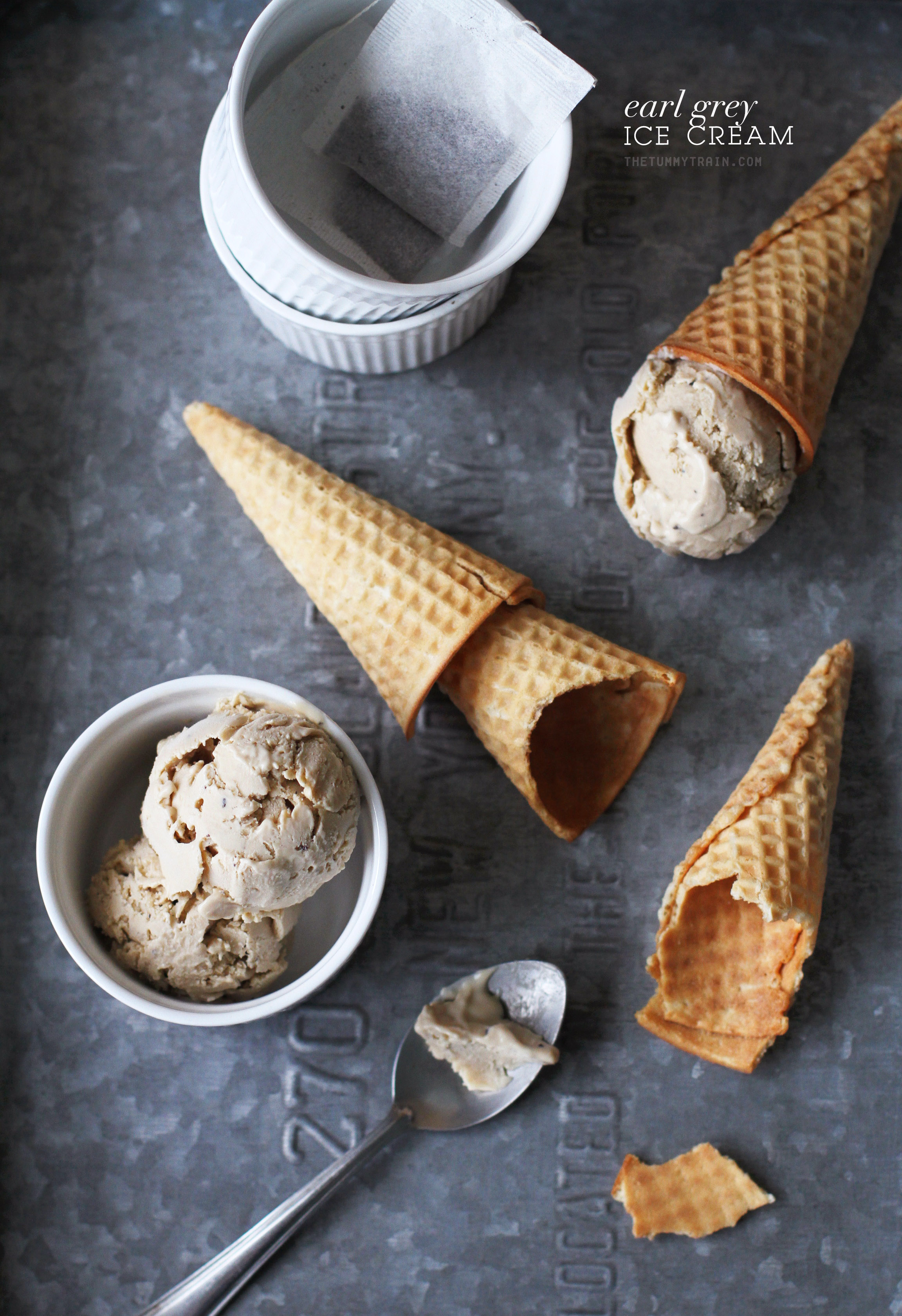 Earl Grey Ice Cream 1 - When the situation calls for an Earl Grey Ice Cream Recipe