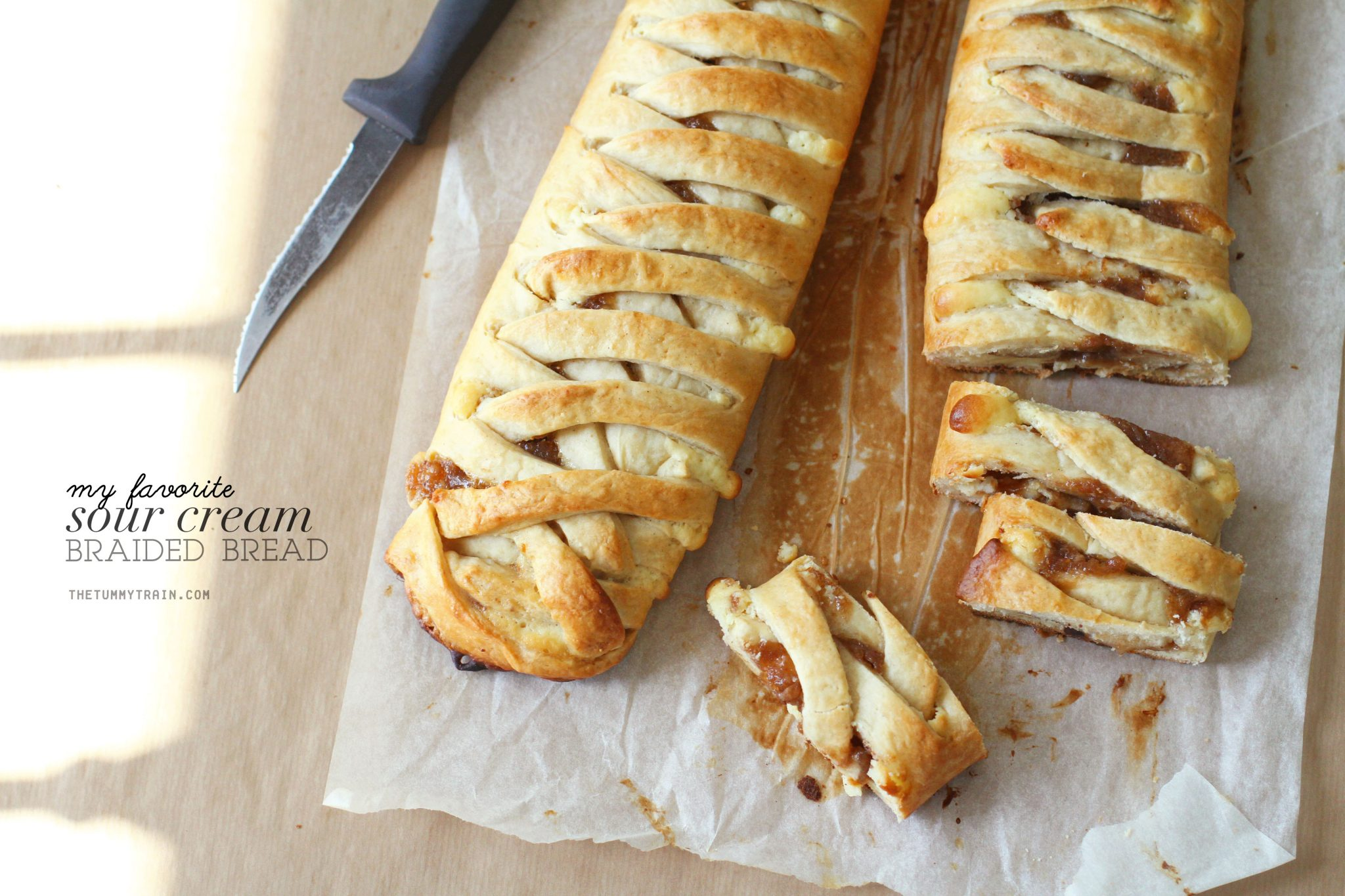 Braided Bread 1 - Contemplating a blogging break + my favorite Braided Bread recipe [VIDEO]