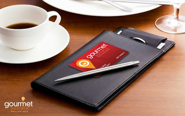 GS Physical Card - Foodies, it's time you get hold of the Gourmet Society Card