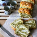 The pleasures of making a Matcha-Milk Tangzhong Bread [VIDEO]