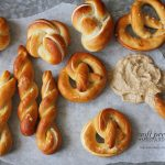 Pretzels with Mustard Dip attempted out of curiosity + a tutorial on how to shape pretzels