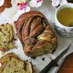 A Matcha Black Sesame Babka for the books