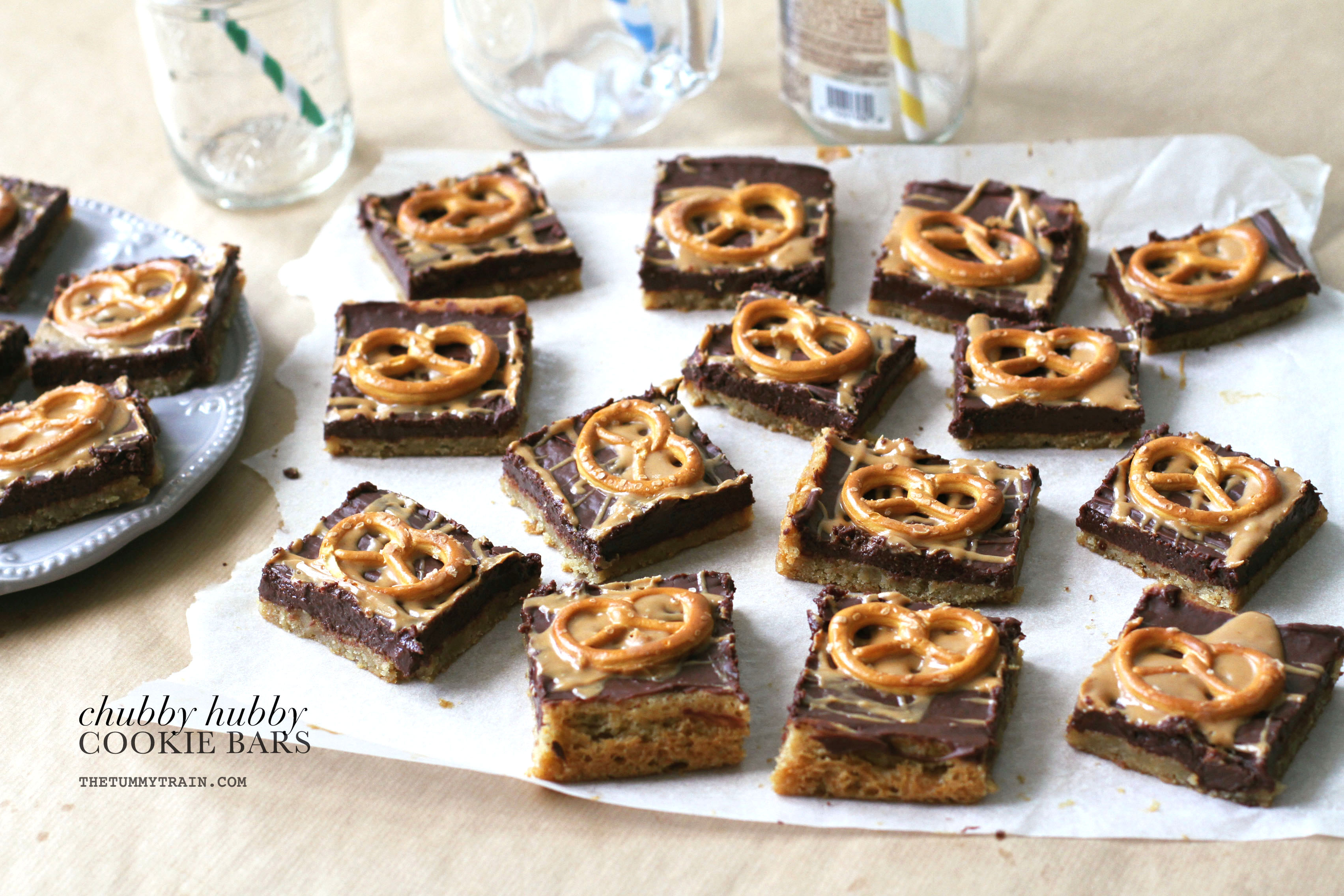 Chubby Hubby Cookie Bars 1 - My first time meeting the Chubby Hubby Cookie Bars