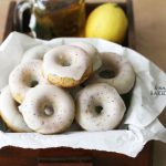 Digging out these Baked Lemon Poppyseed Doughnuts from my archives