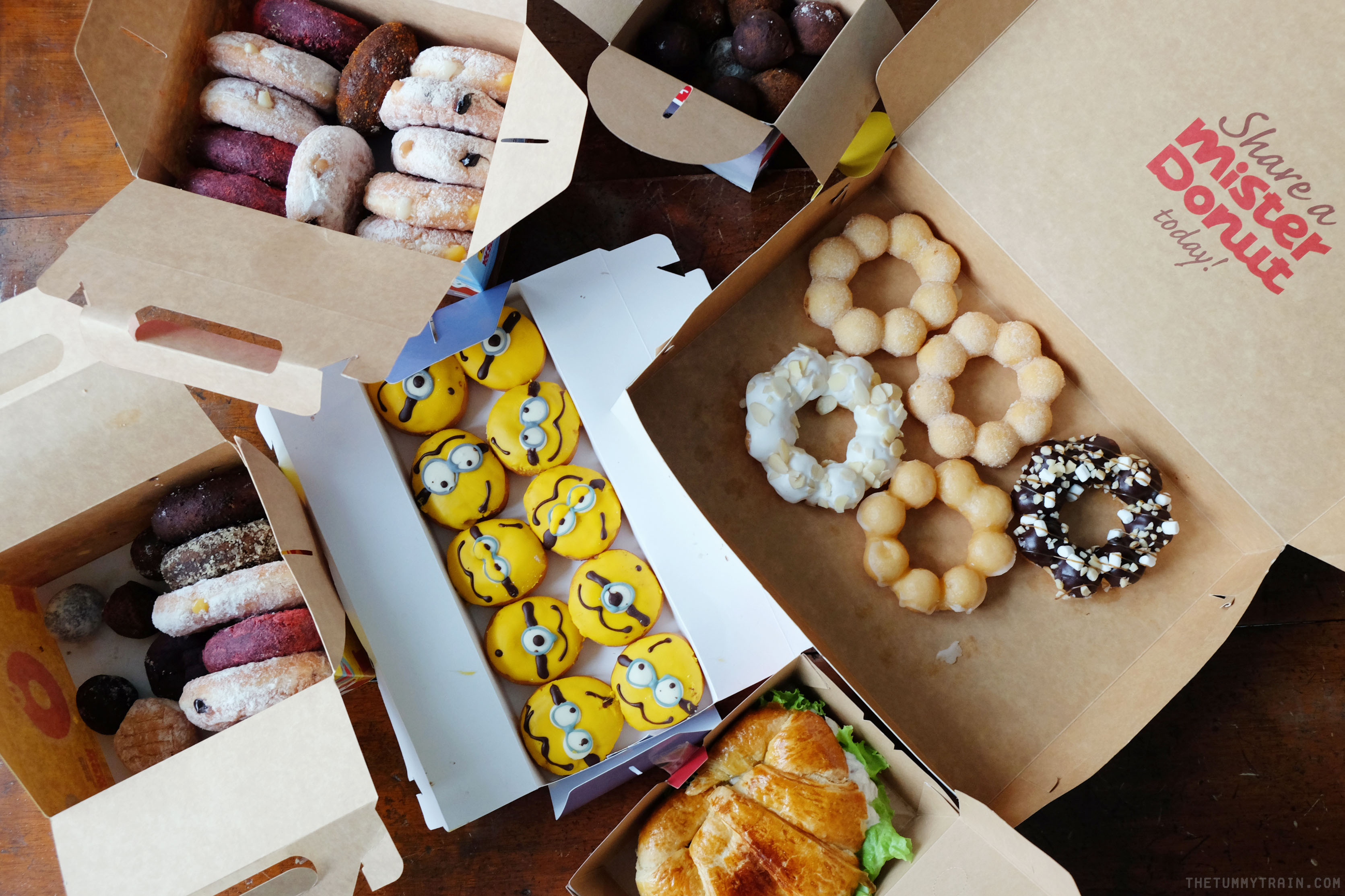 Mister Donut 1 - Minions invade Mister Donut + An Overload of Donuts Giveaway!