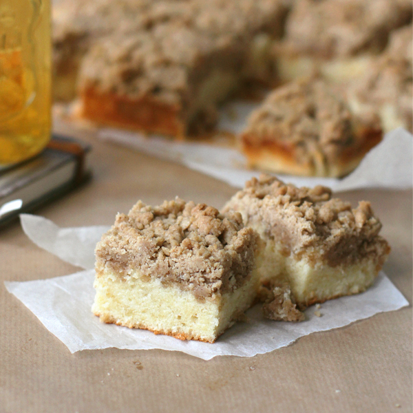 NY Crumb Cake - They call this the New York Crumb Cake