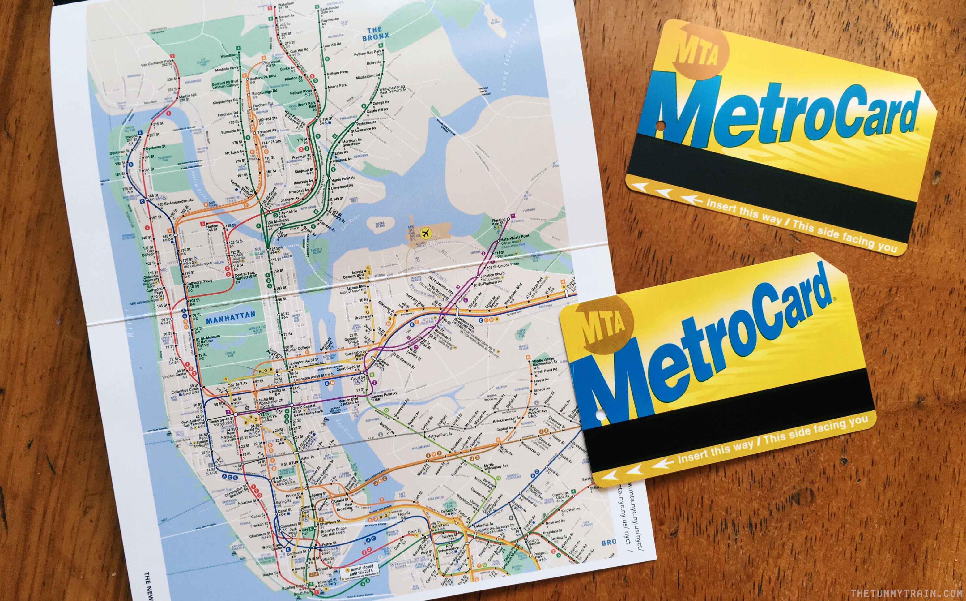 NY Guide Metro Card - 12 Tips for your first time in New York City