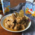 Creamy Chicken Adobo recipe at home with Nestle All Purpose Cream