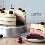 A Neapolitan Layer Cake made with love using KitchenAid [VIDEO]