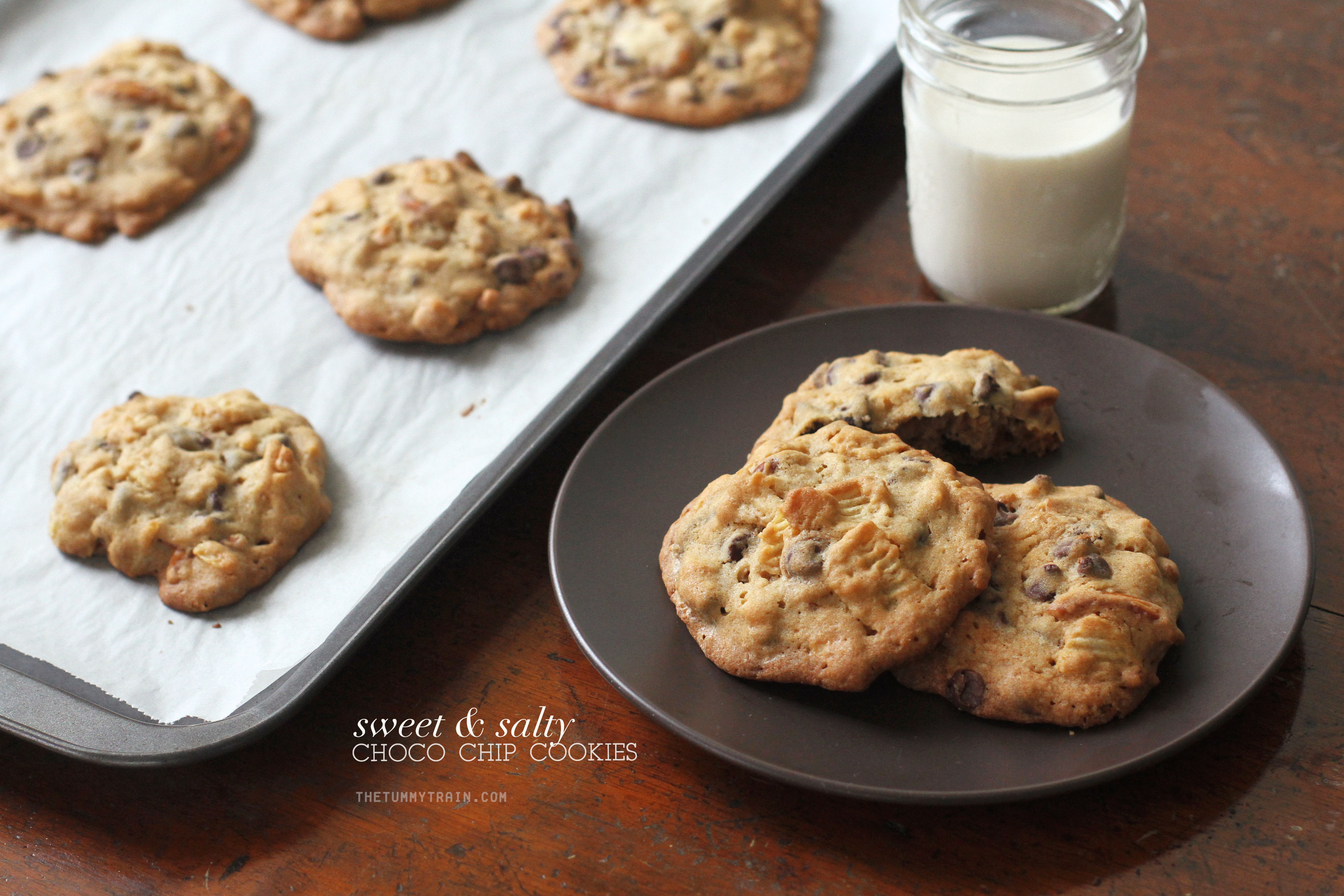 Sweet Salty CCCs 1 - Finding new favourites with these Sweet & Salty Chocolate Chip Cookies [VIDEO]