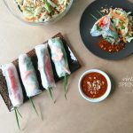 Fresh Vietnamese Spring Rolls Recipe, as seen through the Huawei P9