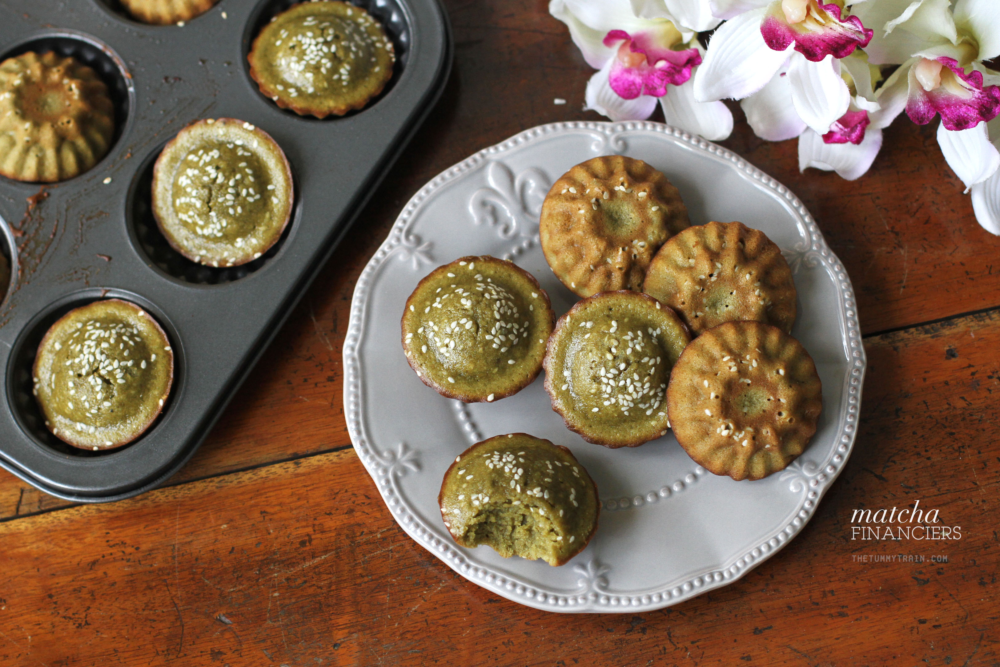 Matcha Financiers 1 - These Matcha Financiers will make teatime even classier