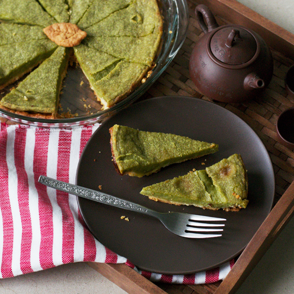 Matcha Pie - Second chance Matcha Pie using Matcha King's Ceremonial Matcha
